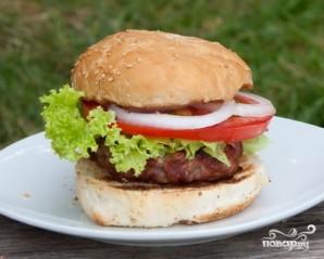 Гамбургеры на мангале - фото шаг 6