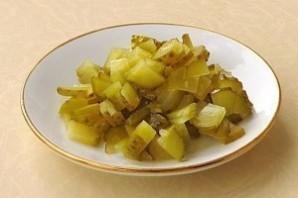 """Очень вкусный салатик """"Пиковая дама"""" - фото шаг 3"""