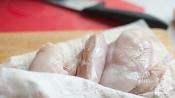 Макароны со сливками и грибами - фото шаг 1