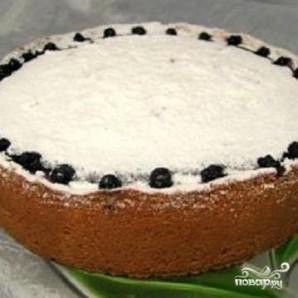 Творожный пирог с черникой - фото шаг 4
