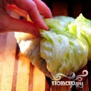 Индейка и салат-латук - фото шаг 21