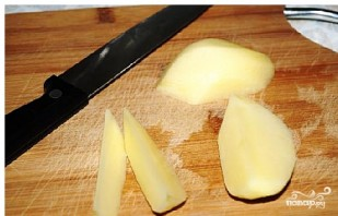 Картофель айдахо - фото шаг 2