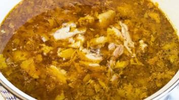 Суп с куриными крылышками - фото шаг 4