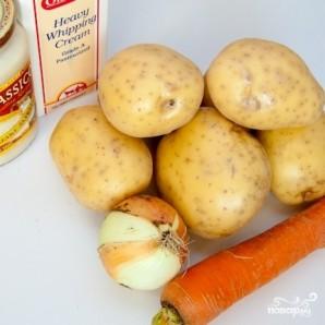 Картофель в соусе Альфредо - фото шаг 1