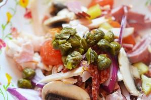Сытный мясной салат - фото шаг 5