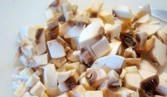 Картошка по-деревенски с грибами - фото шаг 2