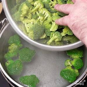 Салат с брокколи - фото шаг 5