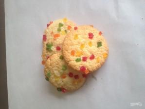 Творожное печенье с цукатами - фото шаг 4