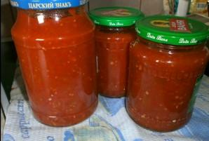 Аджика с хреном и помидорами - фото шаг 5