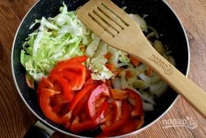Овощное рагу в лаваше - фото шаг 3