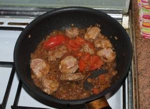 Телятина, жареная на сковороде - фото шаг 6