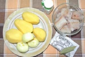 Рыбный суп из путассу - фото шаг 1