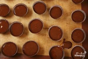Шоколадные пирожные с шоколадным кремом - фото шаг 3