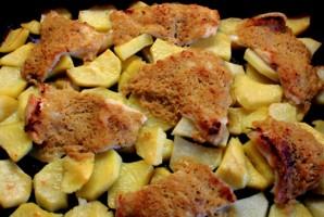 Пангасиус с картофелем в духовке - фото шаг 4