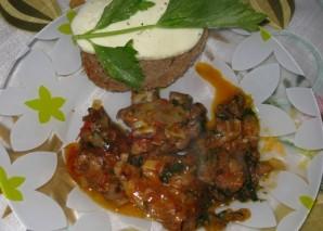 Баранина в томатном соусе - фото шаг 9
