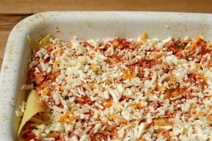 Лазанья с помидорами и сыром - фото шаг 2