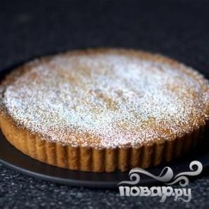 Миндальный пирог с малиной - фото шаг 4