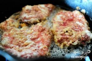 Куриный стейк с соусом - фото шаг 3