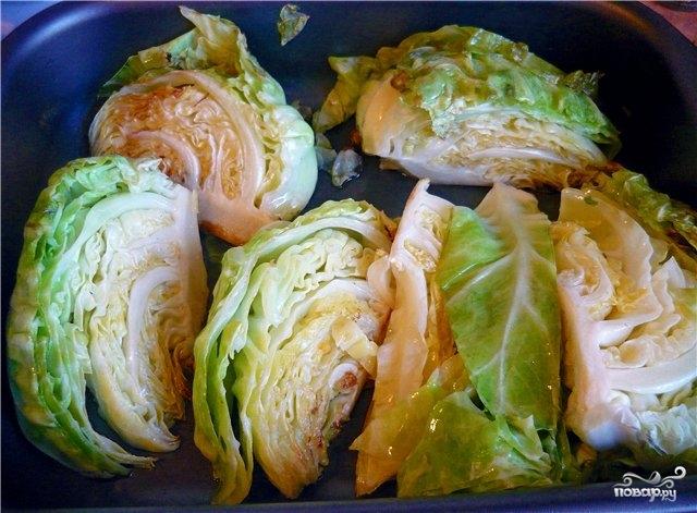 Как приготовить капусту в духовке фото