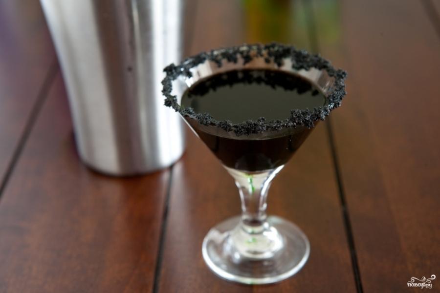 Коктейль черная вдова - фото шаг 5