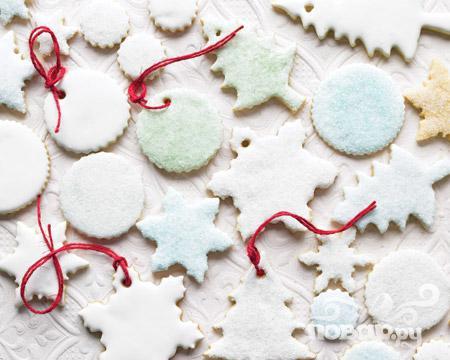 Рецепт Цитрусовое сахарное печенье