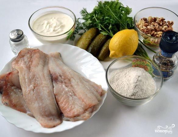 Рецепт Минтай под шубой