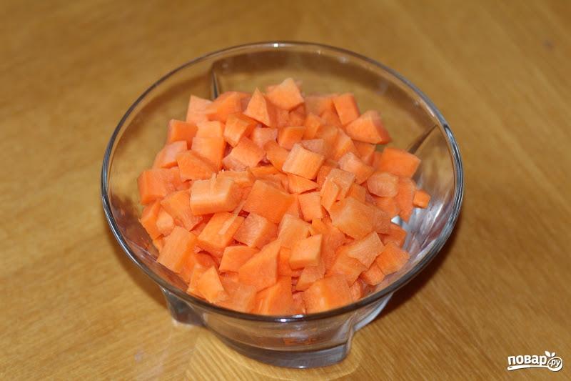 Овощи, тушенные с мясом - фото шаг 1