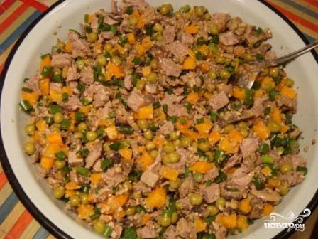 Салат по-грузински - фото шаг 10