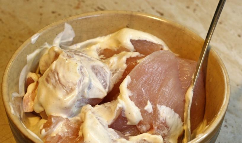 Ромштекс из курицы в духовке - фото шаг 3