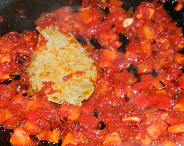Вегетарианский суп с рисом - фото шаг 8