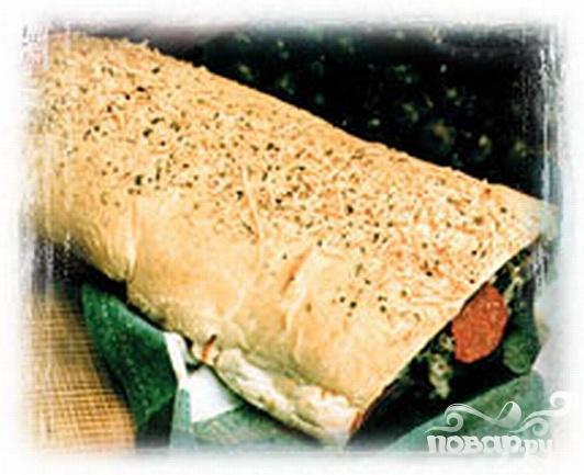 "Рецепт Хлеб ""Антипасто"""