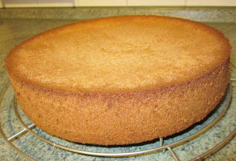 Бисквит лимонный для торта рецепт с фото