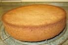 Ванильный бисквит для торта