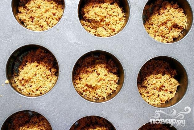 Мини-чизкейки с лаймом - фото шаг 2
