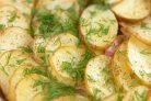 Вкусная картошка по-украински в духовке