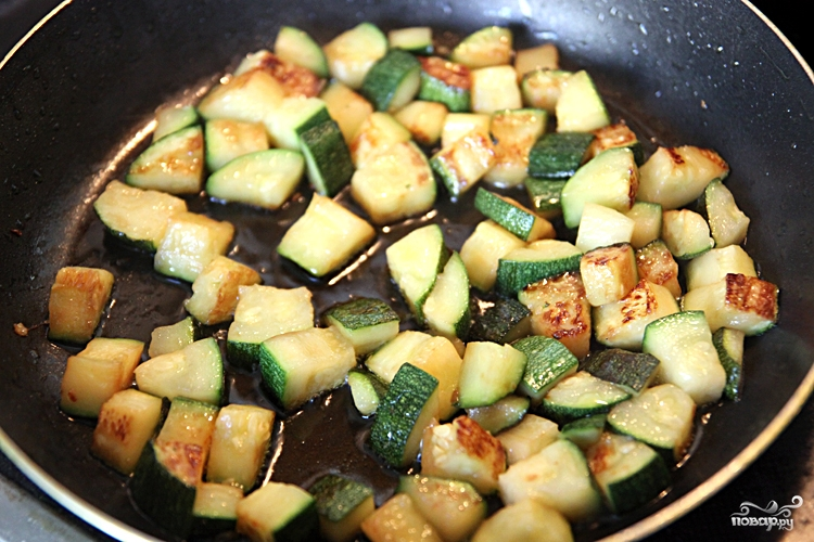 Салат с кускусом - фото шаг 2
