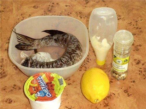 Рецепт Щука со сметаной в духовке