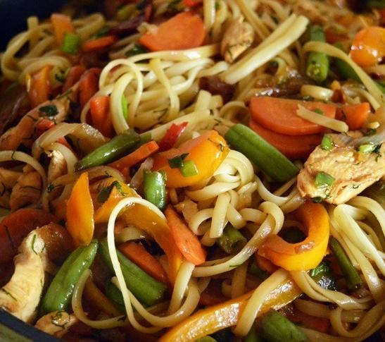 Курица с фасолью и овощами - фото шаг 4