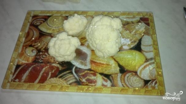 Цветная капуста с картошкой в духовке  рецепт с фото