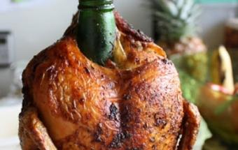 Курица в духовке на банке - фото шаг 3