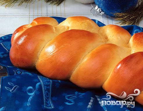 """Домашний хлеб """"Плетенка"""""""