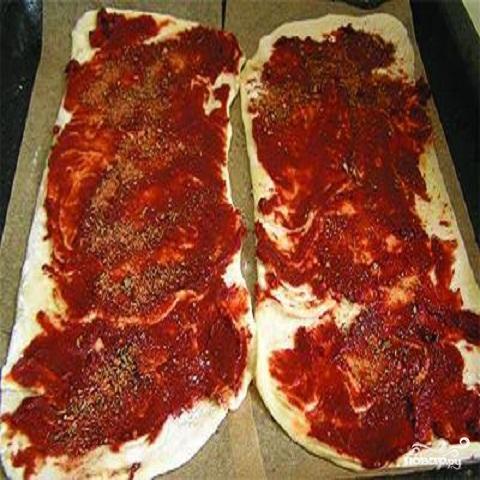 Мини пицца - фото шаг 3