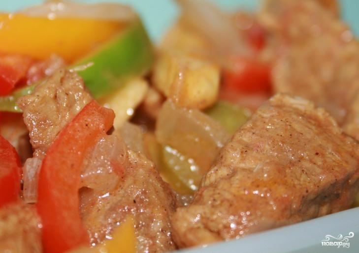 Рецепт Телятина жаркое