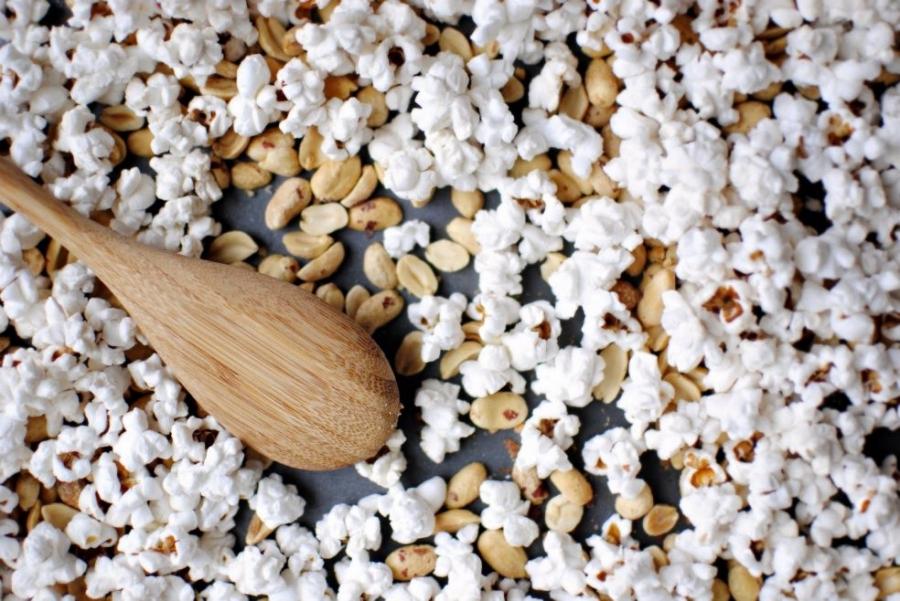 Попкорн в духовке - фото шаг 2