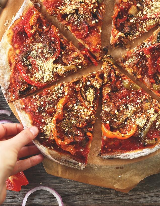 Вегетарианская пицца - фото шаг 6