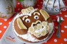 """Банановый торт """"Обезьянка"""""""