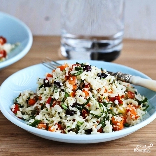 Легкий салат на ужин - фото шаг 8