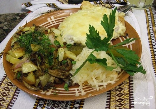 Свинина по-киевски