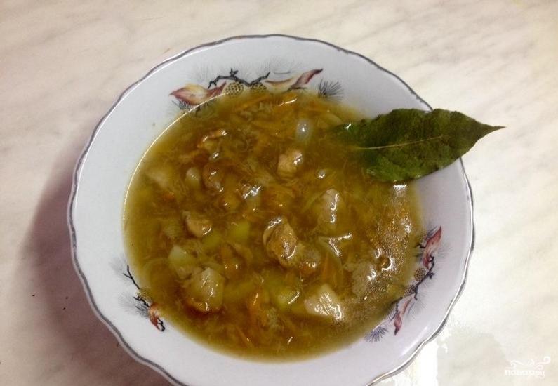 Грибной суп из замороженных белых грибов - фото шаг 4