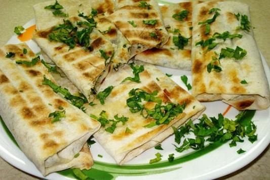 Блюдо с сулугуни рецепт